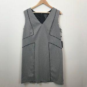NWT Adrianna Papell Woman Size 16 Sheath Dress